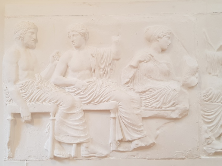 Gods frieze - Parthenon